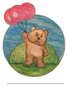 Balloon Bear Colour