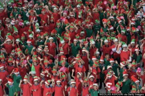 THAILAND-RECORD-CHRISTMAS
