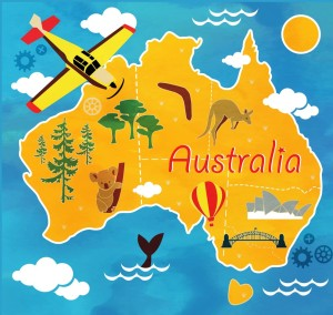 cartoon-map-of-australia-vector-3970891