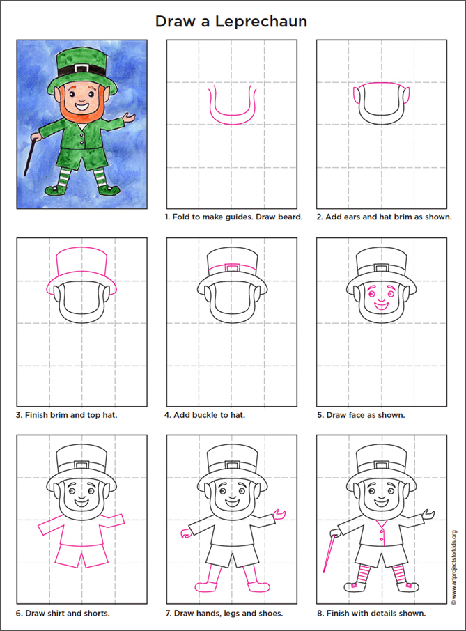 Draw-Leprechaun-diagram