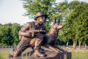 Tribute War Memorial Dog Working Canine Military
